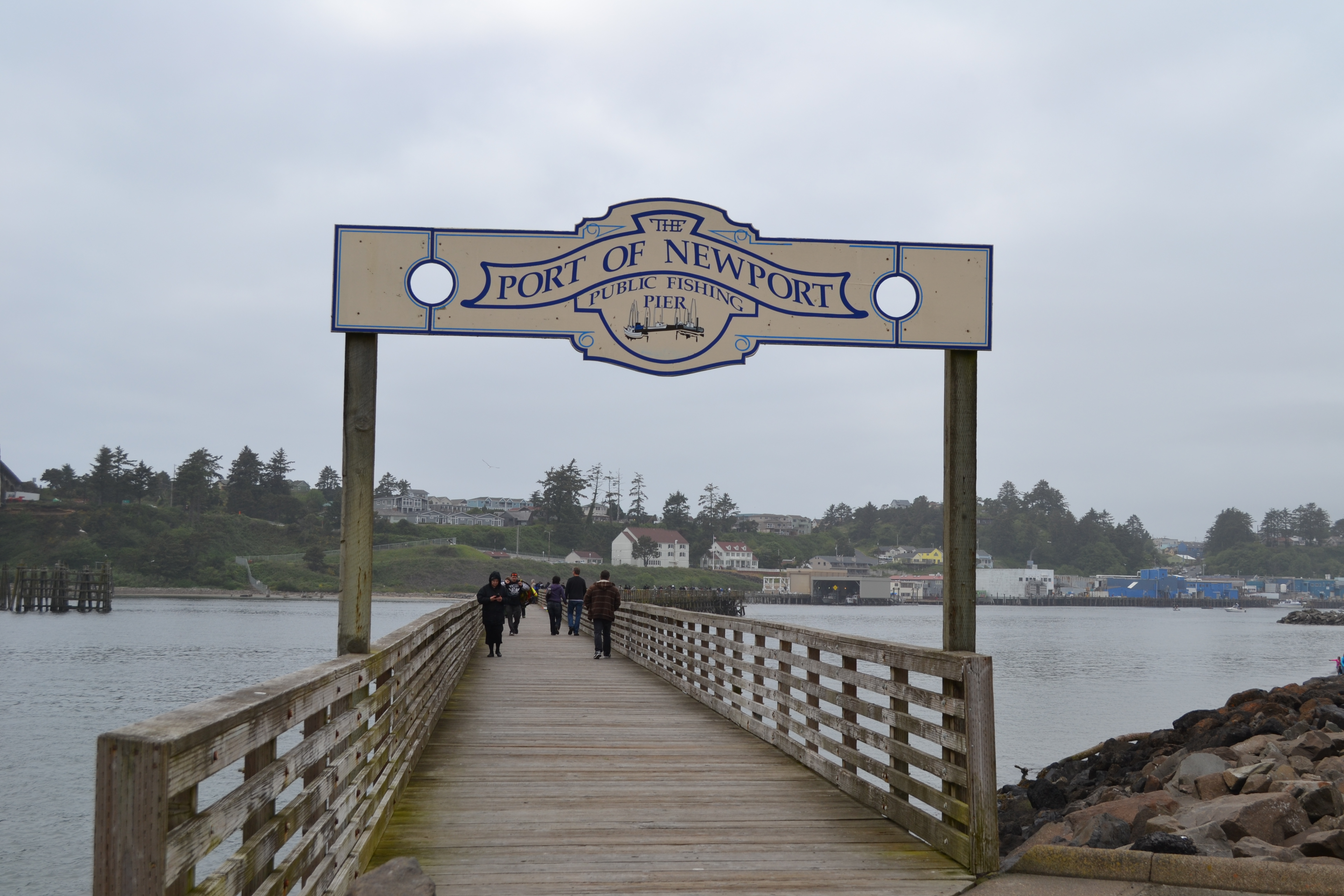 Crabbing and Fishing Pier